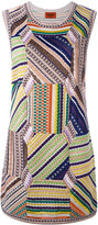 Missoni knitted shift dress - women - Nylon/Polyamide/Polyester/Viscose - 44