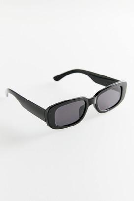 Ruby Plastic Rectangle Sunglasses
