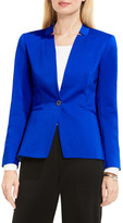 Vince Camuto Notch Neck One-Button Blazer