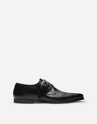 Dolce & Gabbana Slippers In Star Calfskin