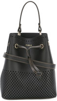 Furla perforated decoration bucket bag - women - Leather - One Size