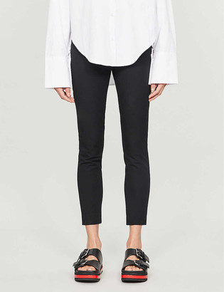 Whistles Super Stretch stretch-cotton trousers