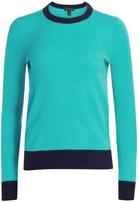 Saks Fifth Avenue Contrast Cashmere Sweater