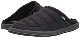 Sanuk Puff n' Chill Low (Black) Men's Slip on Shoes