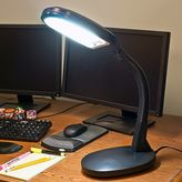 Portsmouth Home Sunlight Black Desk Lamp