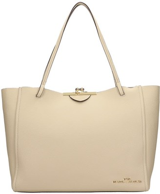 Marc Jacobs Tote In Khaki Leather