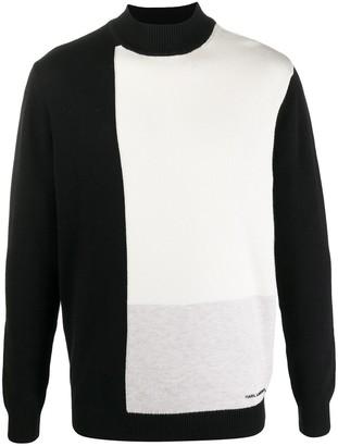 Karl Lagerfeld Paris Bi-Colour Sweater