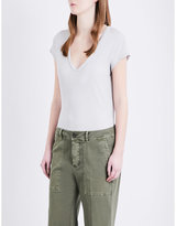 James Perse Loose-fit cotton-jersey t-shirt