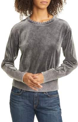 Rag & Bone Washed Velour Pullover