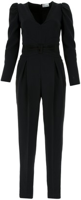 RED Valentino Tuxedo Bow Detail Jumpsuit