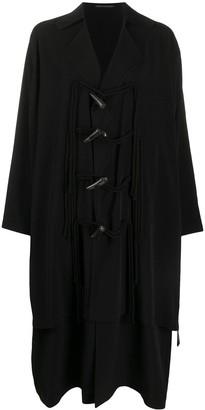 Yohji Yamamoto Oversized Single Breasted Coat