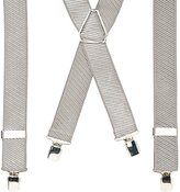 John Lewis Woven Stripe Braces, One Size