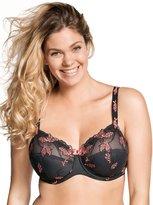 Ulla Women's Underwired Full Figure Lace Bra 2125 42 L