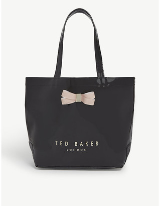 Ted Baker Geeocon bow detail PVC tote