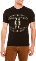 Just Cavalli Snake Logo T-Shirt