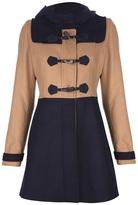 NeL Il Sogno Taschino Colour block duffle coat