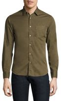 Officine Generale Lipp Cotton Button-Down Dress Shirt