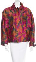 Christopher Kane Camouflage Wool & Silk-Blend Jacket