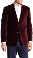 U.S. Polo Assn. Jim Maroon Two Button Notch Lapel Modern Fit Suit Separates Sports Coat