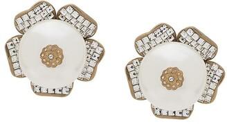 Dolce & Gabbana Faux-Pearl Detailed Earrings