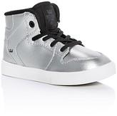 Supra Boys' Vaider Metallic High Top Sneakers - Walker, Toddler