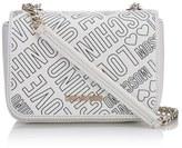 Love Moschino Women's Love Mini Printed Shoulder Bag White