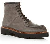 Bally Men's Lybern Moc-Toe Suede Boots