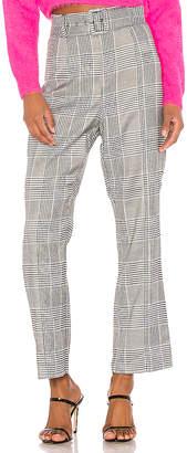 Bardot Belted Check Pant