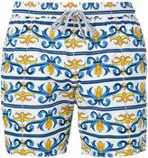 Capricode - baroque print swim shorts - men - Nylon - M