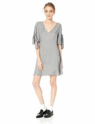 O'Neill Women's Muriell Woven Dress with Tie Sleeves