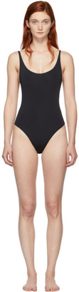 Haight Black Thin Strap One-Piece Swimsuit