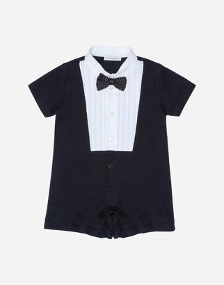 Dolce & Gabbana Bodysuit In Cotton