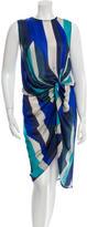 Zimmermann Gathered Silk Dress