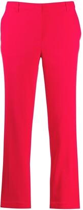 Emporio Armani low-waist straight trousers