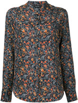 Isabel Marant printed Rusack shirt - women - Silk - 38