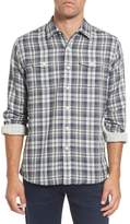 Grayers Saratoga Modern Fit Plaid Double Cloth Sport Shirt