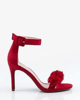 Le Château Floral Ankle Strap Sandal