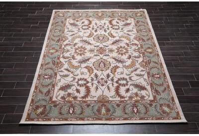 Darby Home Co Delaware Hand Tufted Wool Green Area Rug Rug Size Rectangle 3 9 X 5 9 Shopstyle