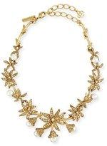 Oscar de la Renta Swarovski® Pearl Flower Necklace