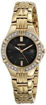 Seiko Women's SUT090 Dress Solar Sporty Crystals Japanese Quartz Watch
