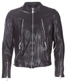 Redskins ROYCE men's Leather jacket in Black