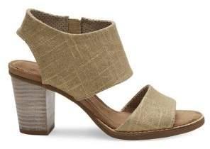 Toms Women's Majorca Metallic Cutout Sandals