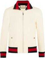 Gucci Twill Bomber Jacket - medium