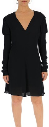 Philosophy di Lorenzo Serafini V-Neck Flare Dress