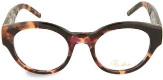 Pomellato 49MM Tortoiseshell Round Optical Glasses