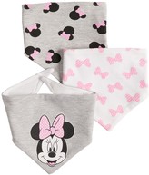 Disney Disney's Minnie Mouse Baby 3-pack Bandana Bibs