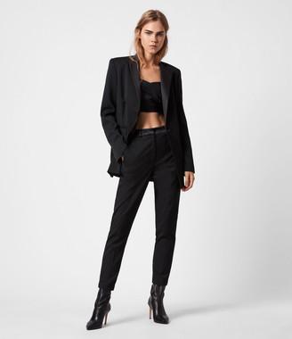 AllSaints Sofia High-Rise Slim Pants