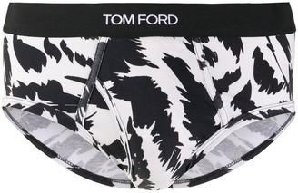 Tom Ford Zebra Print Briefs