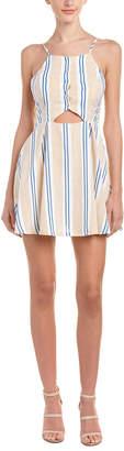 J.o.a. Cutout A-Line Dress