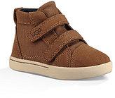 UGG Kid's Rennon Suede & Canvas Dual Hook and Loop Sneakers
